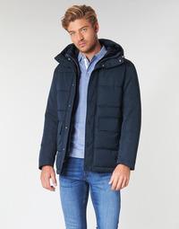 textil Herre Dynejakker Selected SLHLENO Marineblå
