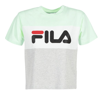 textil Dame T-shirts m. korte ærmer Fila ALLISON TEE Blå / Grå
