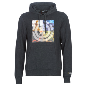 textil Herre Sweatshirts Element QUADRANT SEASONS HOOD Grå