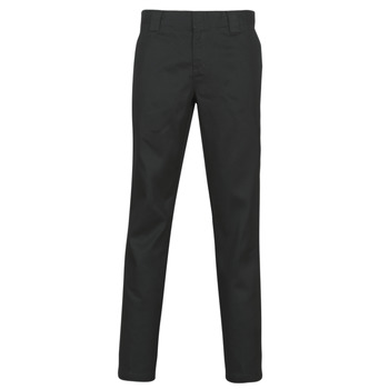 textil Herre Lærredsbukser Dickies SLIM FIT WORK PNT Sort