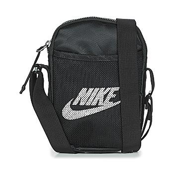 Tasker Bæltetasker & clutch  Nike NK HERITAGE S SMIT Sort
