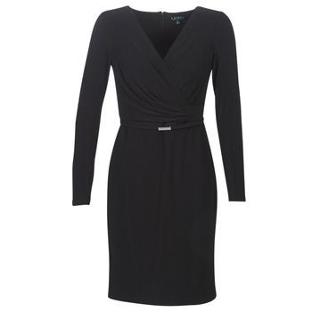 textil Dame Korte kjoler Lauren Ralph Lauren ALEXIE Sort