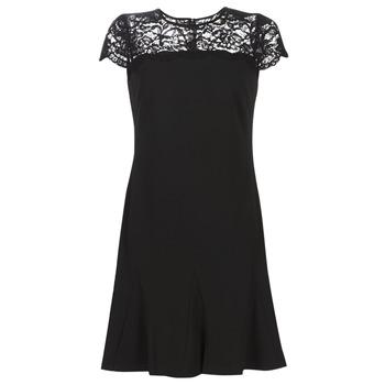 textil Dame Korte kjoler Lauren Ralph Lauren CALLY Sort