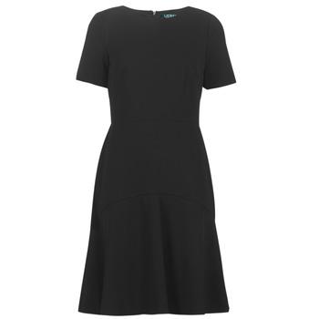 textil Dame Korte kjoler Lauren Ralph Lauren BABA Sort