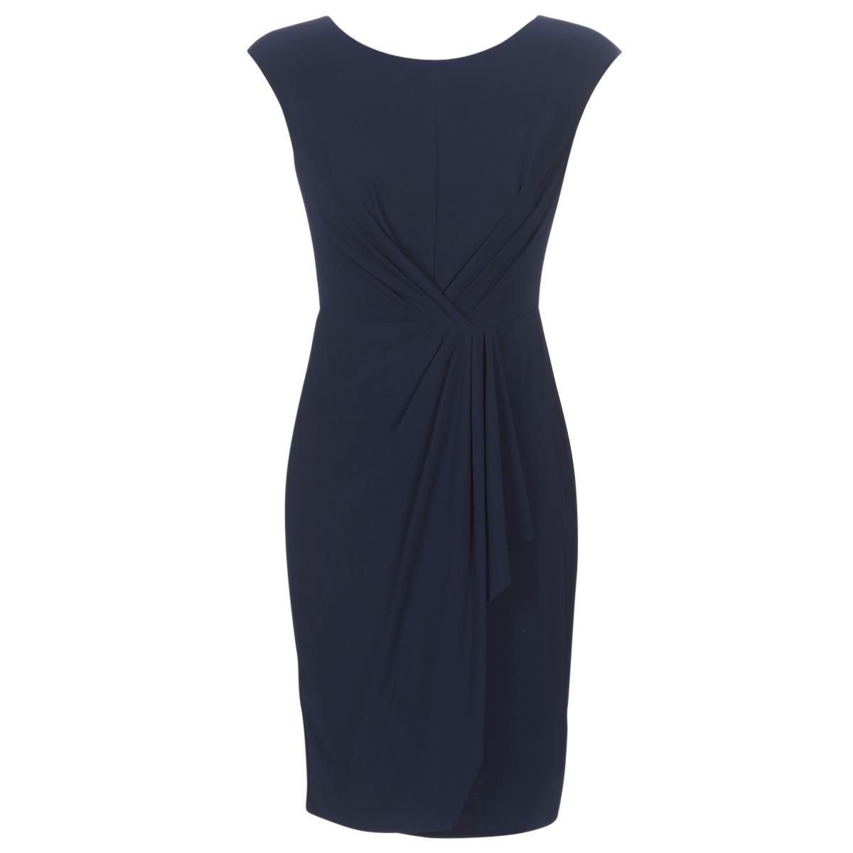 Korte kjoler Lauren Ralph Lauren  RUCHED CAP SLEEVE DRESS