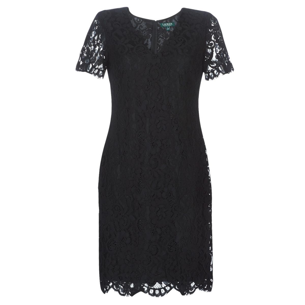 Korte kjoler Lauren Ralph Lauren  SCALLOPED LACE DRESS