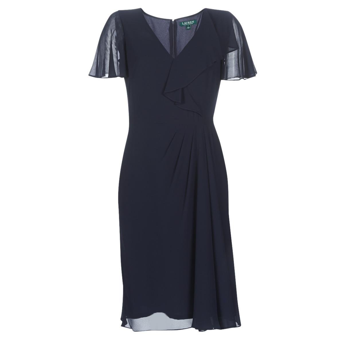 Lange kjoler Lauren Ralph Lauren  CUTLER CAP SLEEVE DAY DRESS