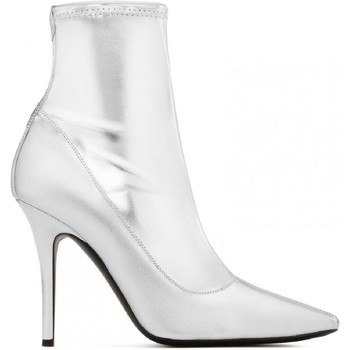 Sko Dame Chikke støvler Giuseppe Zanotti I870030 001 argento