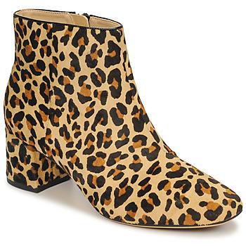 Sko Dame Høje støvletter Clarks SHEER FLORA Leopard