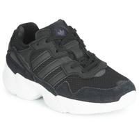 Sko Børn Lave sneakers adidas Originals YUNG-96 C Sort
