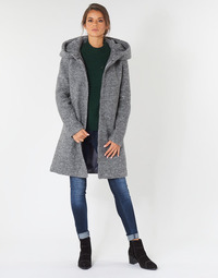 textil Dame Frakker Vila VICANIA Grå
