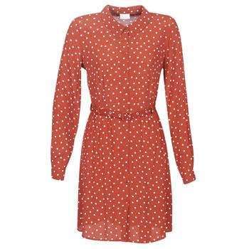 textil Dame Korte kjoler Vila VISULOLA Rød