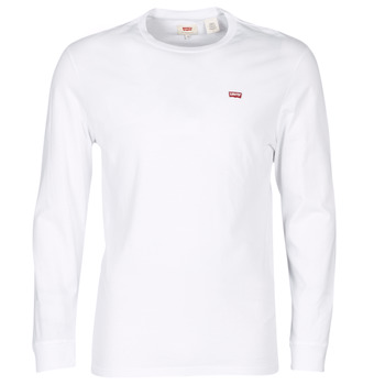 textil Herre T-shirts m. korte ærmer Levi's LS ORIGINAL HM TEE Hvid