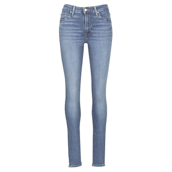 textil Dame Jeans - skinny Levi's 721 HIGH RISE SKINNY Los / Angeles / Sol