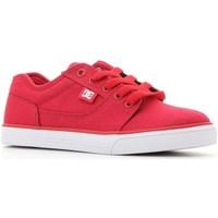 Sko Børn Lave sneakers DC Shoes Tonik TX Rød