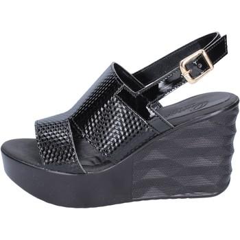Sko Dame Sandaler Querida sandali pelle sintetica Nero