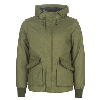 textil Herre Jakker Scotch & Soda SHORT HOODED JACKET WITH INSIDE QUILTING Kaki