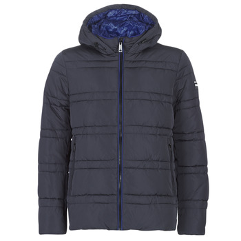 textil Herre Dynejakker Scotch & Soda CLASSIC HOODED PRIMALOFT JACKET Marineblå