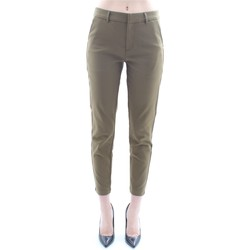 textil Dame Chinos / Gulerodsbukser Scotch & Soda 149913 Military green