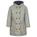 Dynejakker Maison Scotch  REVERSIBLE DOUBLE BREASTED JACKET IN CHECK AND SOLID