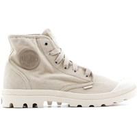 Sko Herre Høje sneakers Palladium Manufacture Pampa HI Beige