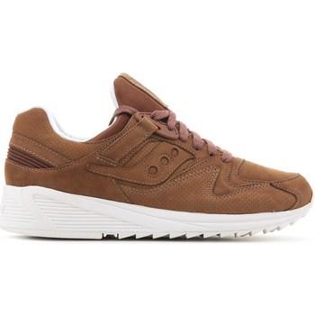 Sko Herre Lave sneakers Saucony Grid 8500 HT Brun