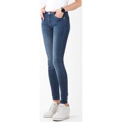 textil Dame Jeans - skinny Wrangler Natural River W29JPV95C navy