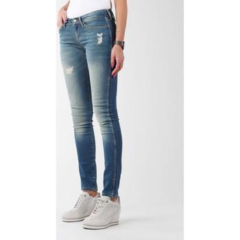textil Dame Jeans - skinny Wrangler Sandy Blues W23S4072G blue