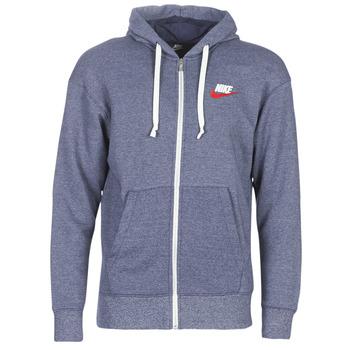textil Herre Sweatshirts Nike M NSW HERITAGE HOODIE FZ Marineblå