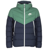 textil Herre Dynejakker Nike M NSW DWN FILL WR JKT HD Marineblå / Grøn