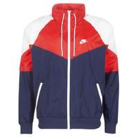 textil Herre Vindjakker Nike M NSW HE WR JKT HD + Marineblå