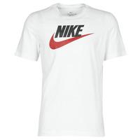 textil Herre T-shirts m. korte ærmer Nike M NSW TEE ICON FUTURA Hvid