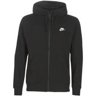 textil Herre Sweatshirts Nike M NSW CLUB HOODIE FZ BB Sort