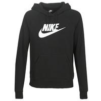 textil Dame Sweatshirts Nike W NSW ESSNTL HOODIE PO  HBR Sort