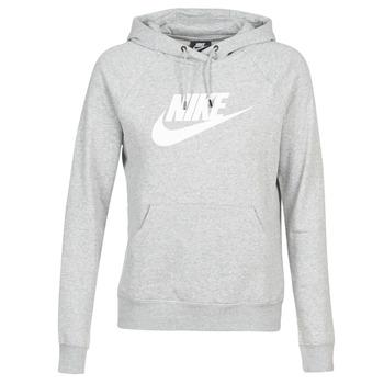textil Dame Sweatshirts Nike W NSW ESSNTL HOODIE PO  HBR Grå