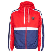 textil Herre Sportsjakker Nike M NSW NIKE AIR JKT SSNL WVN Rød / Marineblå