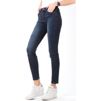 textil Dame Jeans - skinny Lee Scarlett High Crop Skinny Cropped L32BAIFA navy