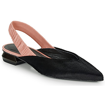Sko Dame Ballerinaer Heimstone SWEDES Sort / Pink