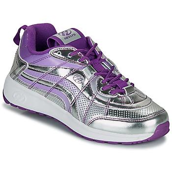 Sko Pige sko med hjul Heelys NITRO Sølv / Violet