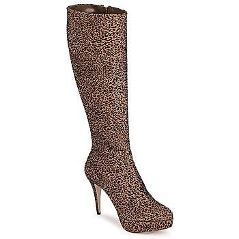 Sko Dame Chikke støvler Sebastian FLOC-LEO Leopard