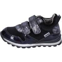 Sko Pige Lave sneakers Enrico Coveri sneakers velluto pelle sintetica Nero