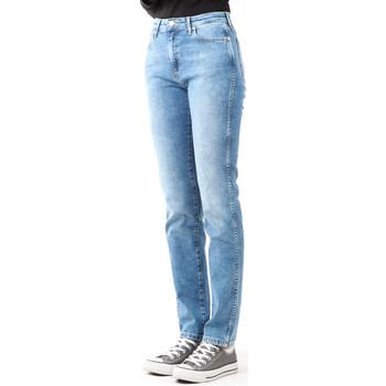 textil Dame Jeans - skinny Wrangler Boyfriend Best Blue W27M9194O blue