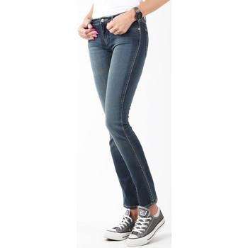 textil Dame Jeans - skinny Wrangler Courtney Storm Break W23SP536V navy