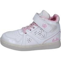 Sko Pige Høje sneakers Lulu sneakers pelle sintetica vernice Bianco