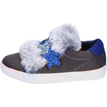 Sko Pige Lave sneakers Lulu sneakers camoscio sintetico Grigio