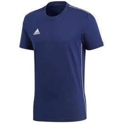textil Herre T-shirts m. korte ærmer adidas Originals Core 18 Flåde