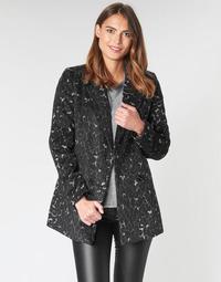 textil Dame Frakker Vero Moda VMCOCOLEOPARD Grå