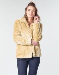 textil Dame Frakker Vero Moda VMMINK Beige