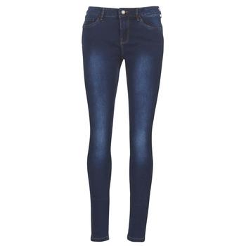 textil Dame Smalle jeans Vero Moda VMSEVEN Blå / Mørk