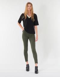 textil Dame Lærredsbukser Vero Moda VMSEVEN Kaki